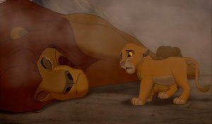 Simba's dead father